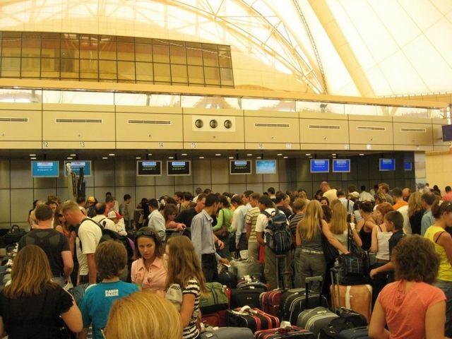 L'aeroporto di Sharm