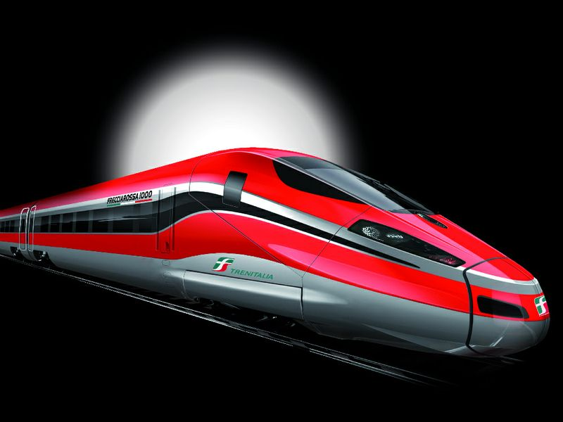 Frecciarossa 1000 ecco le prime immagini del nuovo treno - Immagini del treno per colorare ...