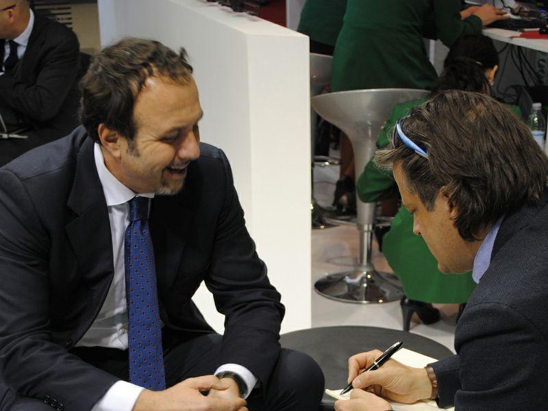 Gianni Pieraccioni intervistato da Remo Vangelista