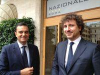 Roberto Scaramella (a sx) e Andrea Andorno (a dx)