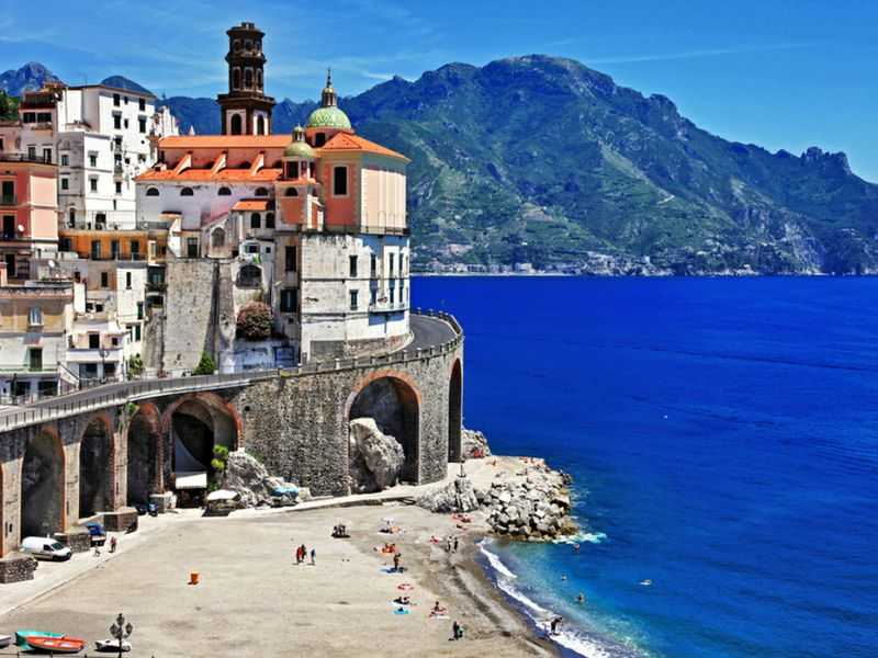 Atrani mare Campania