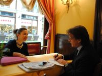 Valeria Rebasti intervistata da Remo Vangelista
