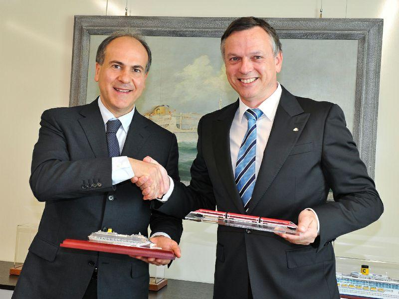Gianfranco Battisti e Michael Thamm