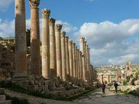 Il sito archeologico di Jerash