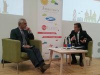 Gabriele Burgio intervistato dal direttore di TTG Italia Remo Vangelista