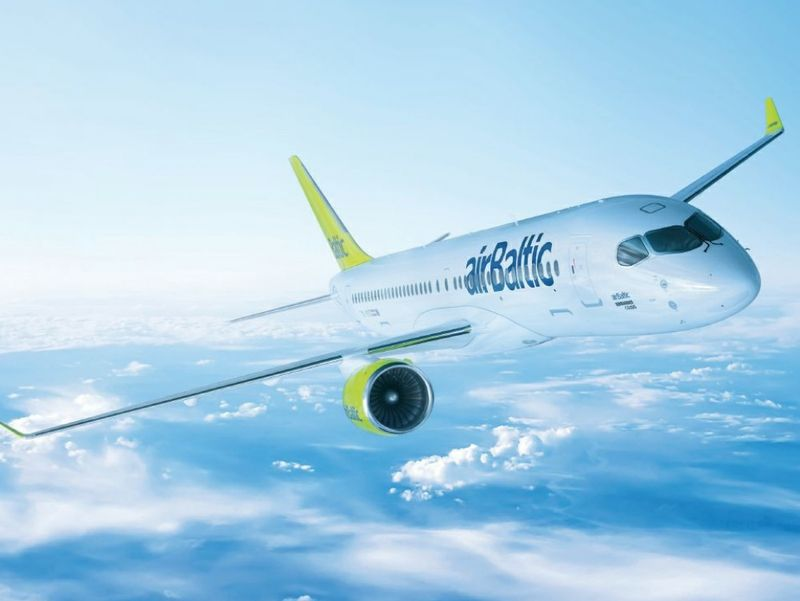 Bombardier airBaltic