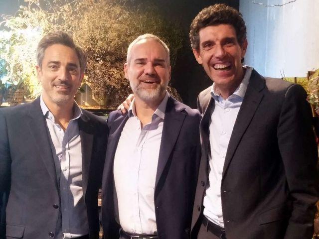 Da sinistra: Eyal Amzallag, Italy&South Europe managing director, Arnaldo Aiolfi, a.d. Italia e direttore progetti di sviluppo Europa del Sud, Giorgio Trivellon,