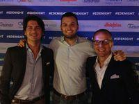 Da sinistra: Tommaso Bertini, Marco Filippetti e Angelo Cartelli